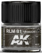 Real Colors: RLM81 Version 1 Acrylic Lacquer Paint 10ml Bottle