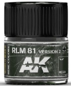 Real Colors: RLM81 Version 2 Acrylic Lacquer Paint 10ml Bottle