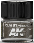 Real Colors: RLM81 Version 3 Acrylic Lacquer Paint 10ml Bottle