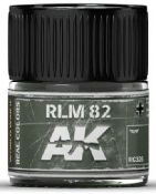 Real Colors: RLM82 Acrylic Lacquer Paint 10ml Bottle