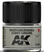 Real Colors: Hairyokushoku (Grey-Green) Acrylic Lacquer Paint 10ml Bottle