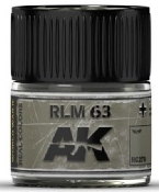 Real Colors: RLM63 Acrylic Lacquer Paint 10ml Bottle