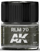 Real Colors: RLM70 Acrylic Lacquer Paint 10ml Bottle