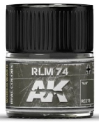Real Colors: RLM74 Acrylic Lacquer Paint 10ml Bottle