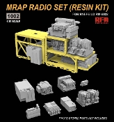 MRAP Resin Radio Set