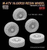 M-ATV Resin Wheel Set