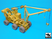 1/72 Aircraft Crash Handling And Salvage Crane (CVCC) complete kit