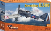 Dewoitine D500 French Air Force Monoplane Fighter