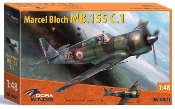 Marcel Bloch MB155 C1 French Air Force Fighter