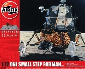 One Small Step for Man Apollo Lunar Module, Base, 16 Astronauts Gift Set w/paint & glue