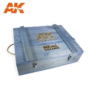 AK Interactive Real Colors AIR - Wood Transport Box, Special Edition (133 colours)