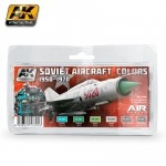Air Series: Soviet Aircraft Colors 1950-1970 Acrylic/Enamel Paint Set