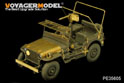 1/35 WWII U.S. Ford GPW 1/4ton Mod.1942 (For Bronco 35107)